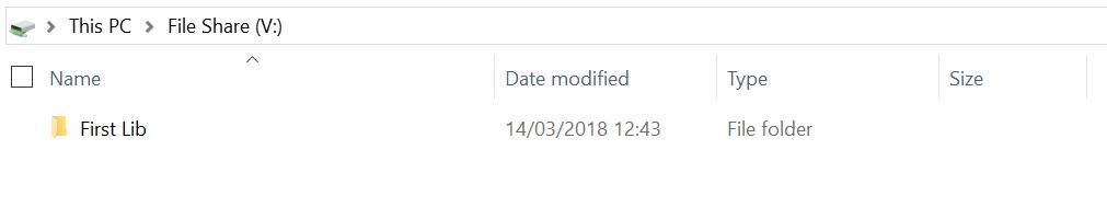 Azure File Share In Explorer