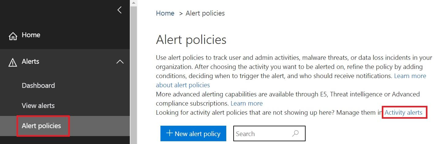 Activity Alerts