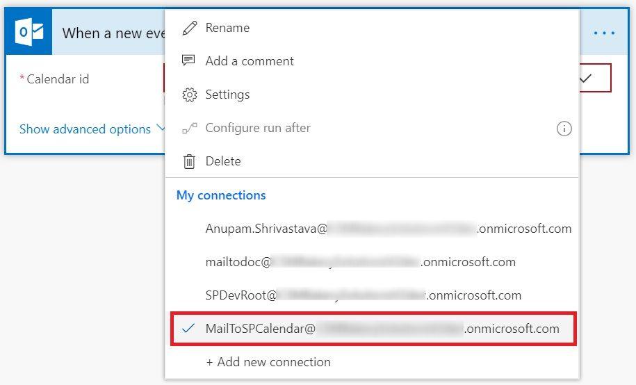 Send Meeting Invites to SharePoint Online Calendar - Cloud