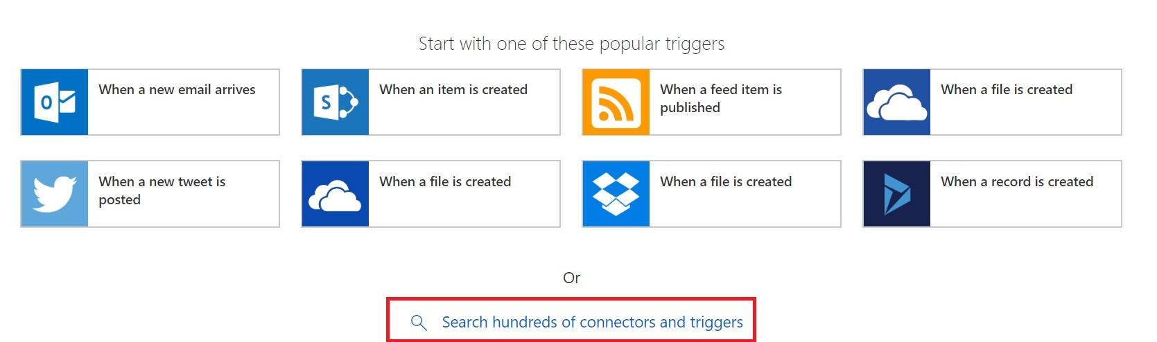 Search Trigger