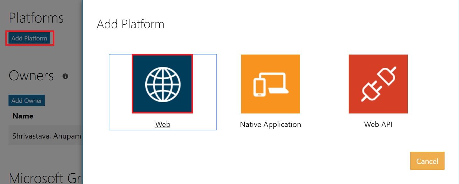 Add Web Platform