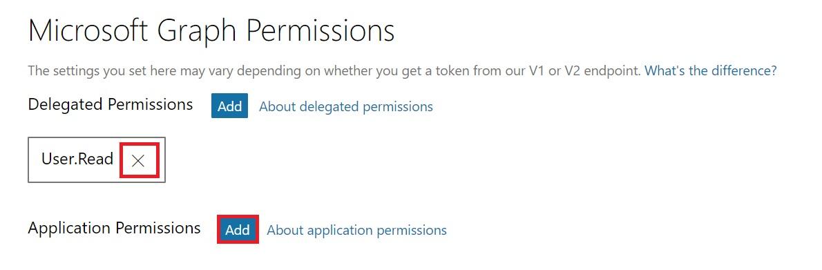 Registration Portal Add Perm