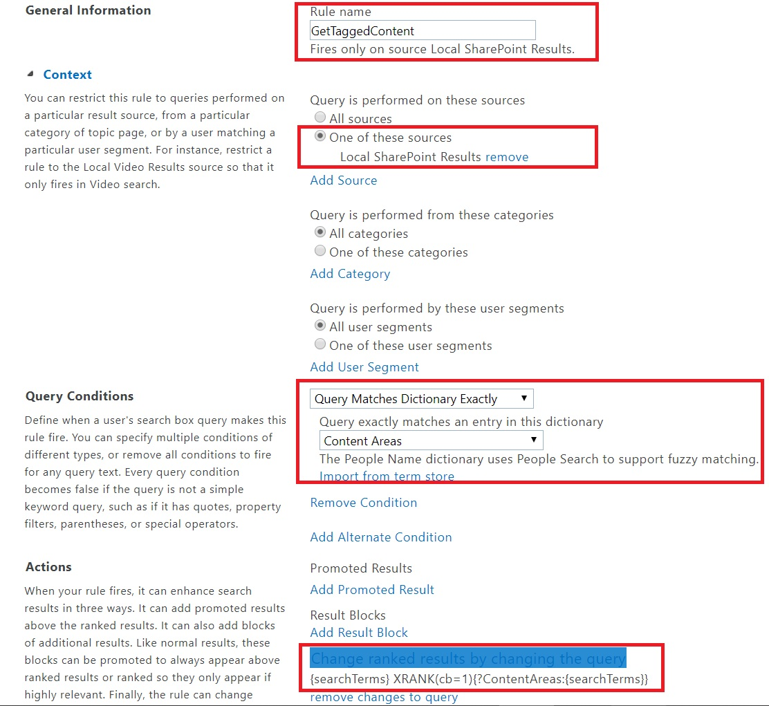 Optimize SharePoint Search Results using Auto Tagged Content
